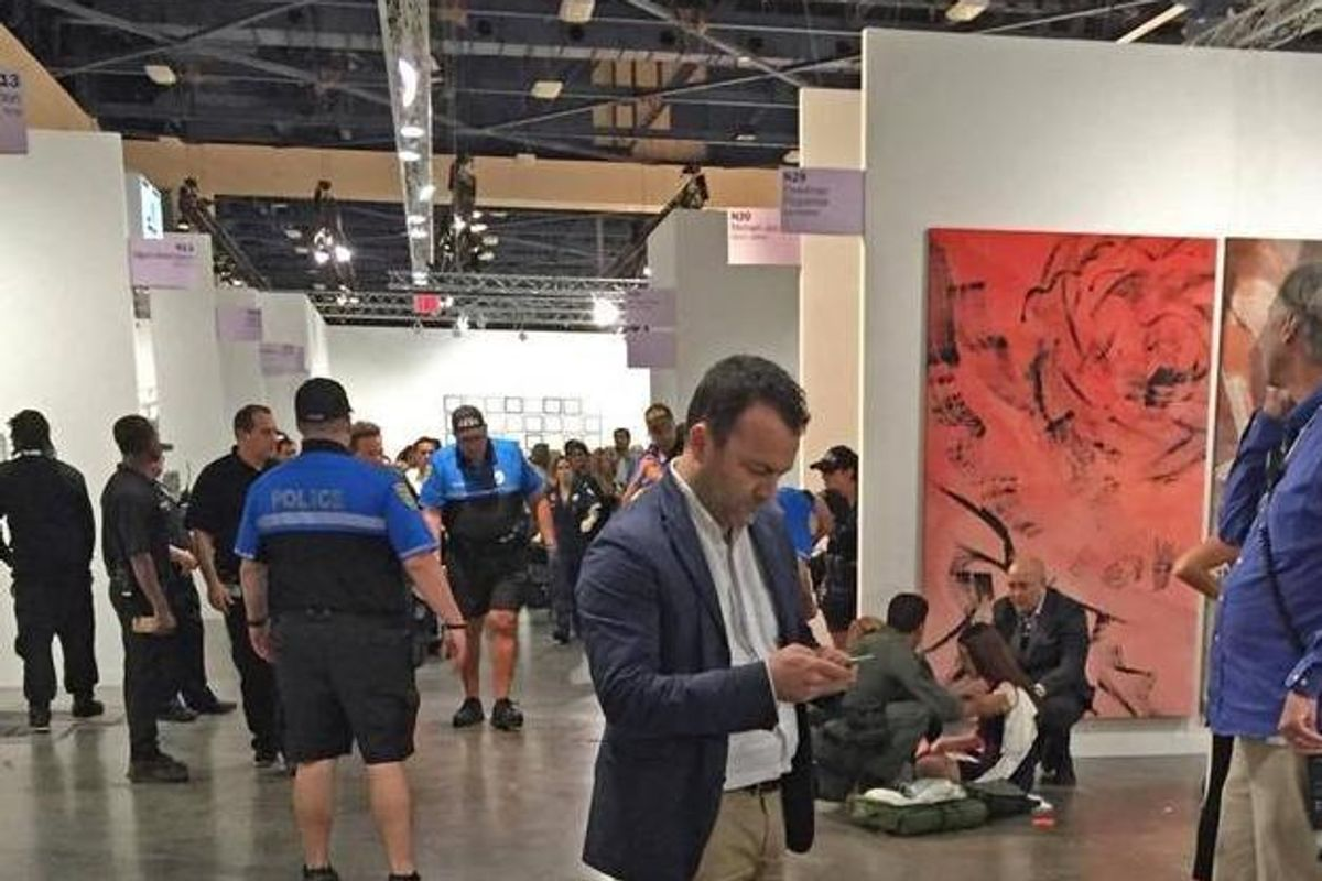 More Insane Details About the Stabbing at Art Basel
