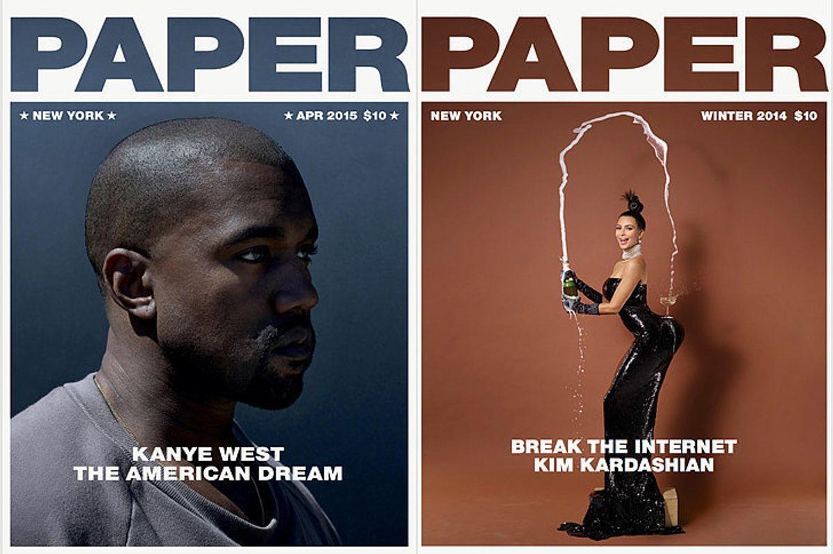 Kim and Kanye Name Their Baby Saint