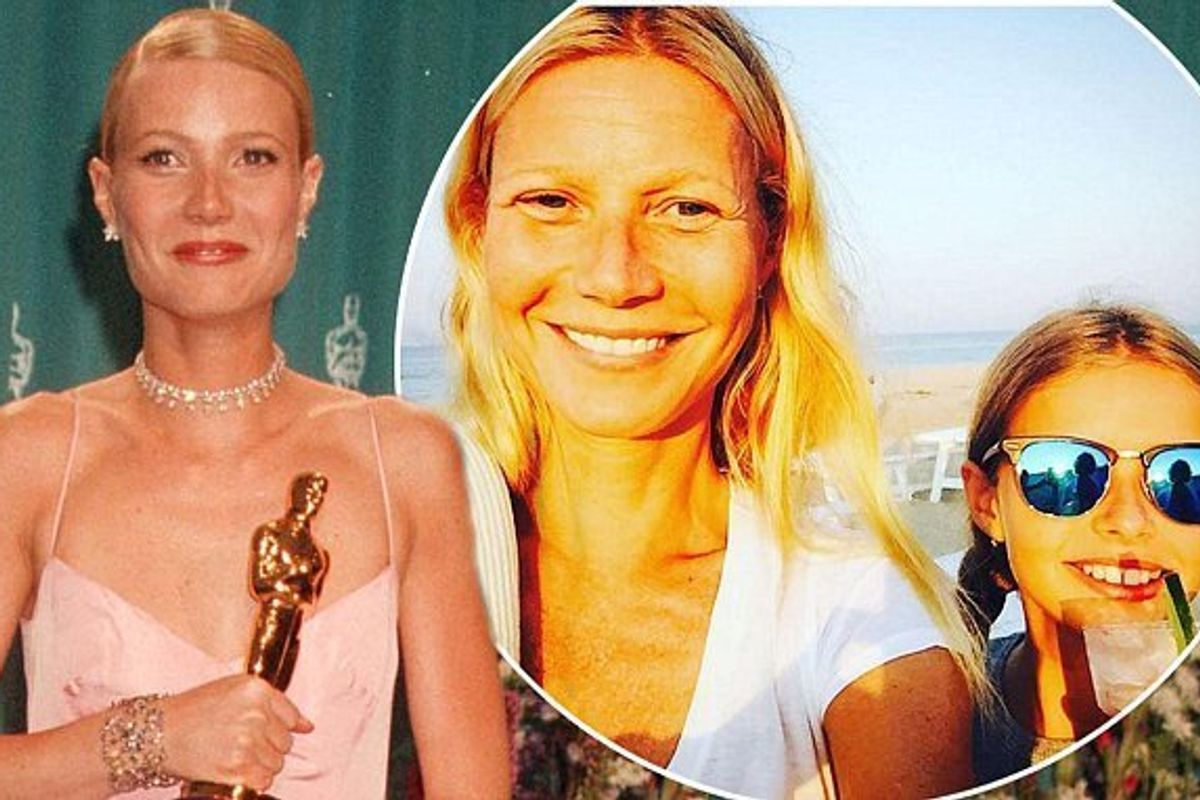 Gwyneth Paltrow Hopes Daughter Apple Will Wear Her Pink Oscar Gown to the Prom