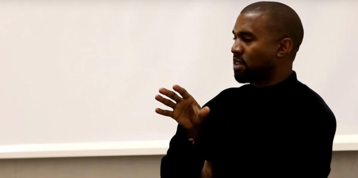 Watch Kanye West Give a Talk about Ending Classism