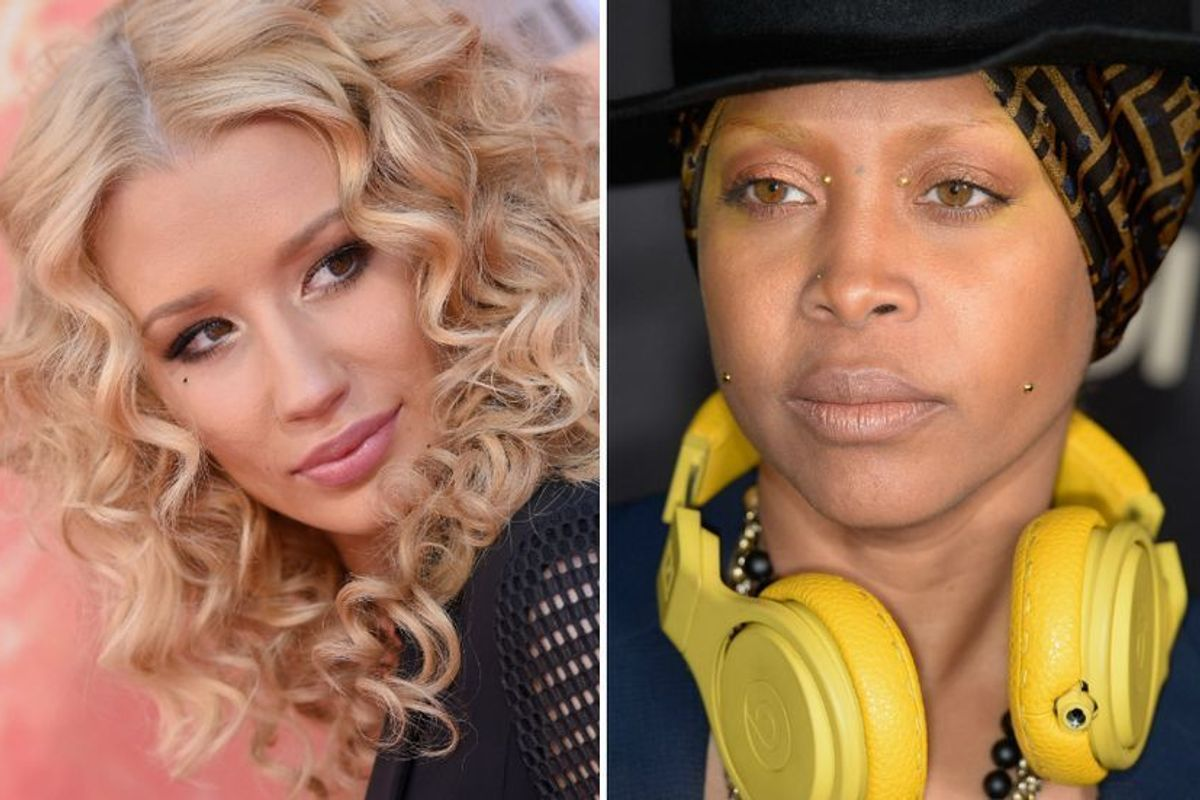 Erykah Badu and Iggy Azalea (Sort of) Bury The Hatchet Via Twitter