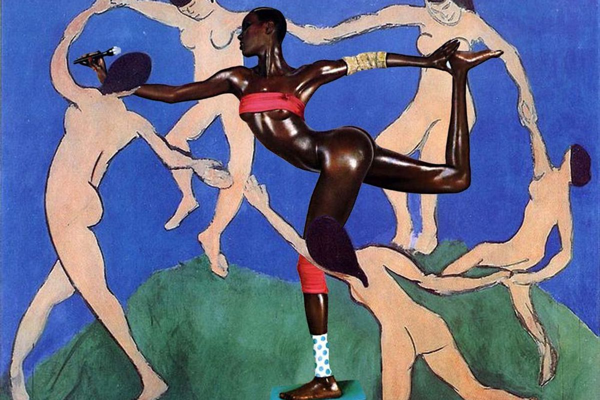 An Artist Is Collaging Black Icons Into Classic Works Of Art