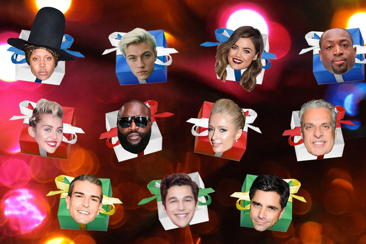 Celebrity Gift Guides