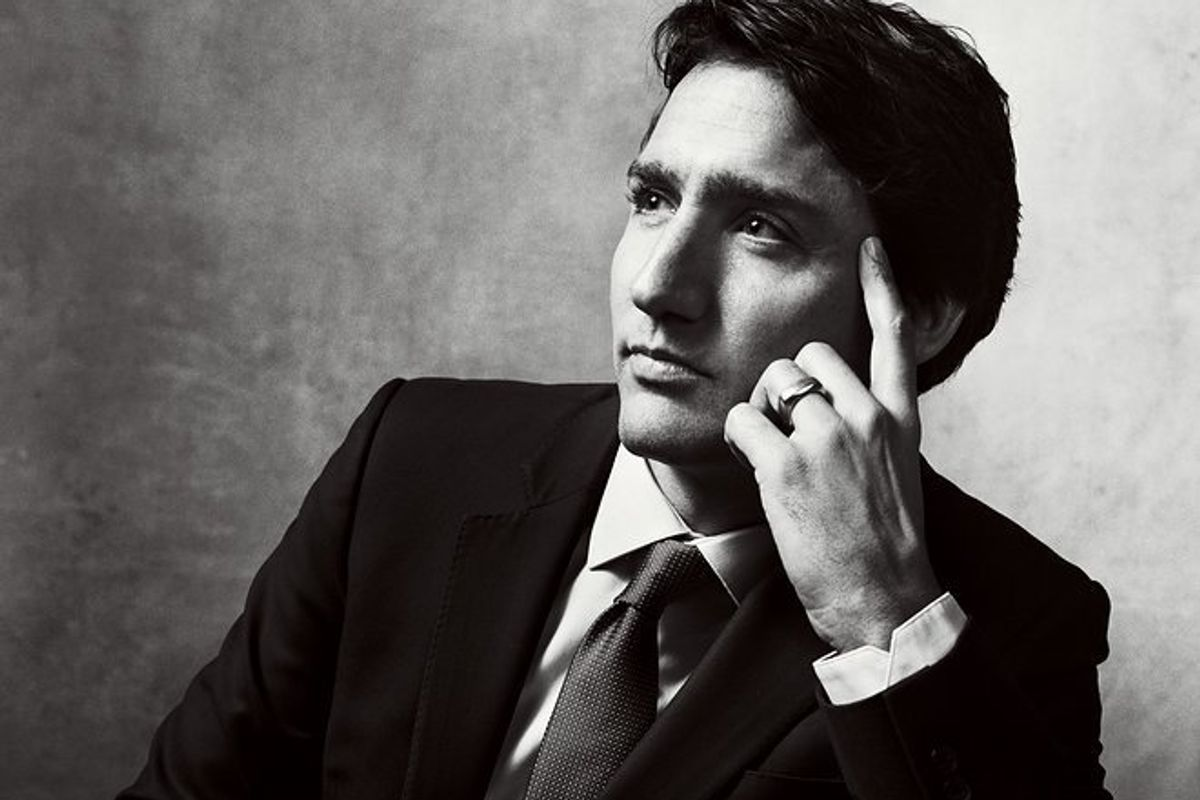 Highlights From VOGUE's Beautiful Profile Of Prime Minister Justin Trudeau and His Wife Sophie Grégoire-Trudeau