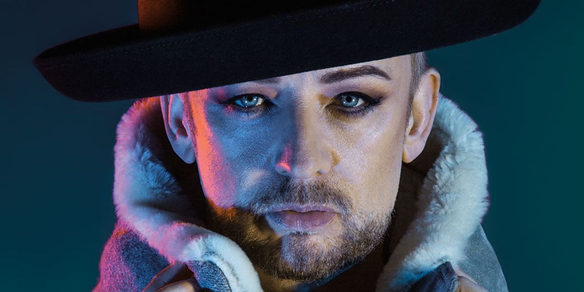 Boy George Gives Us a Beauty Tutorial