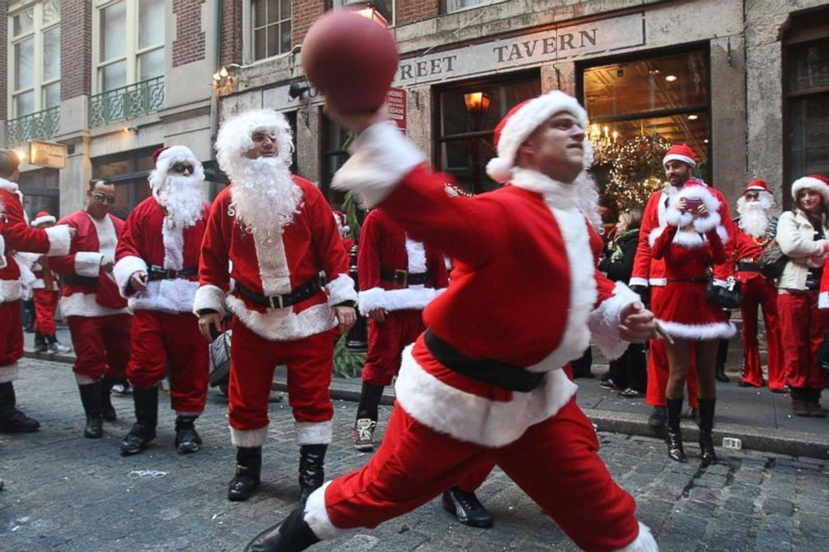 The End is Nigh: SantaCon Begins Its March of Death In Williamsburg