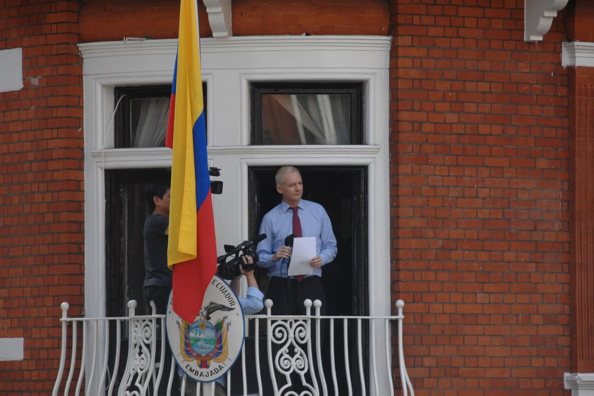 Hasbeens & Willbees Will Be Auctioning Off Julian Assange's Shirt Tonight