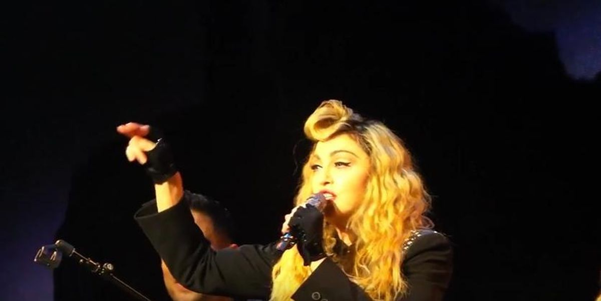 """Watch Madonna Tell Her Fans To """"Shut The Fuck Up"""""""