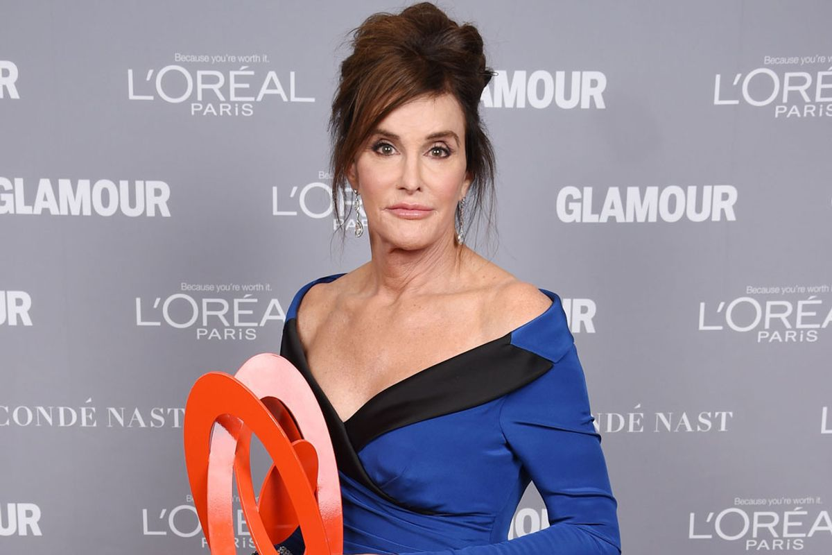 "Caitlyn Jenner Apologizes For Transphobic ""Man In A Dress"" Interview Comments"