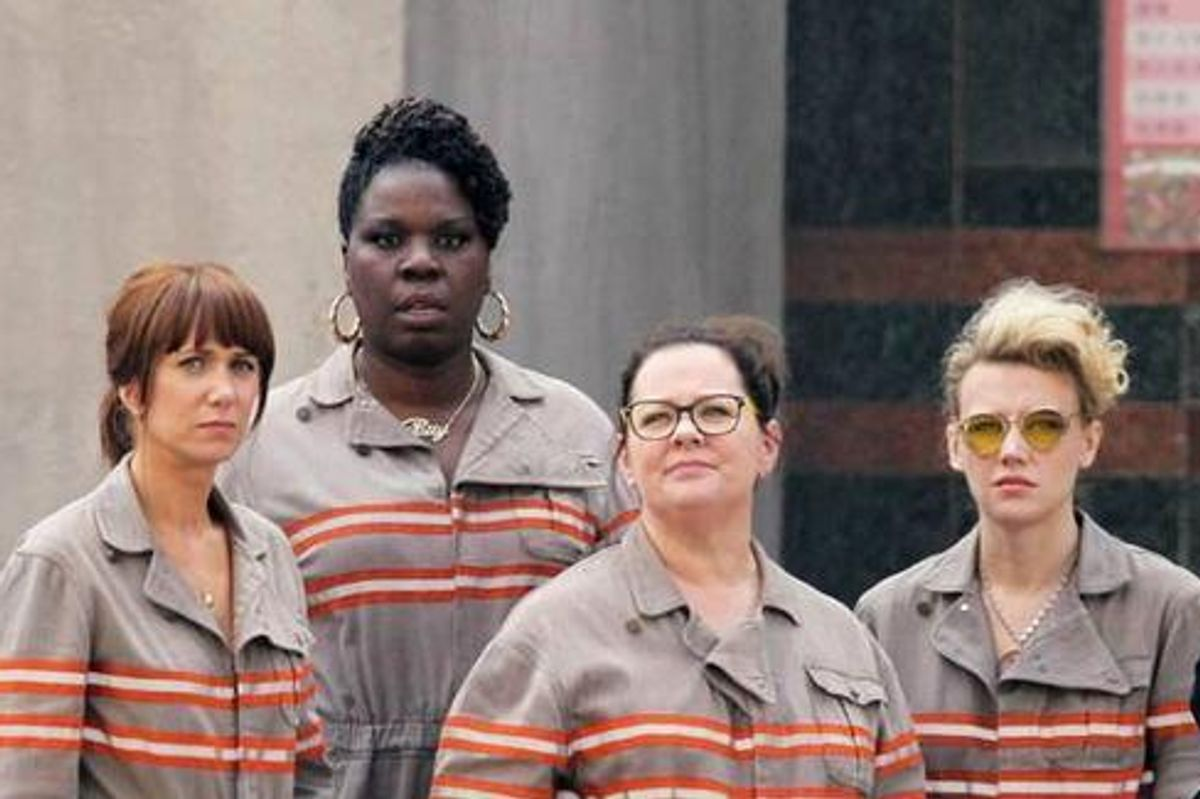 BEHOLD: The First Official Photo From The All Female 'Ghostbusters' Movie