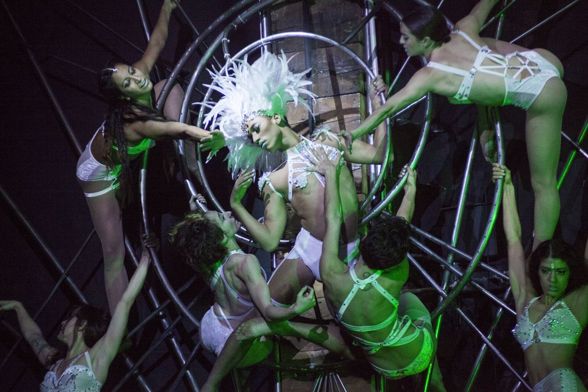 Bushwick Performance Space House of Yes Re-Opens With an Xmas Spectacular