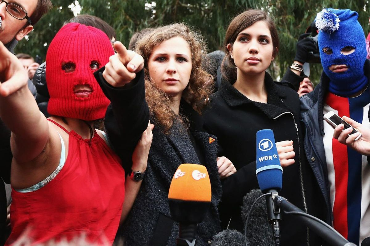 """Pussy Riot To Open A """"Womens-Only"""" Museum"""