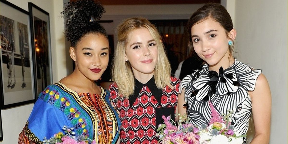 "Amandla Stenberg And Rowan Blanchard Both Named ""Feminist Celebrity Of The Year"""