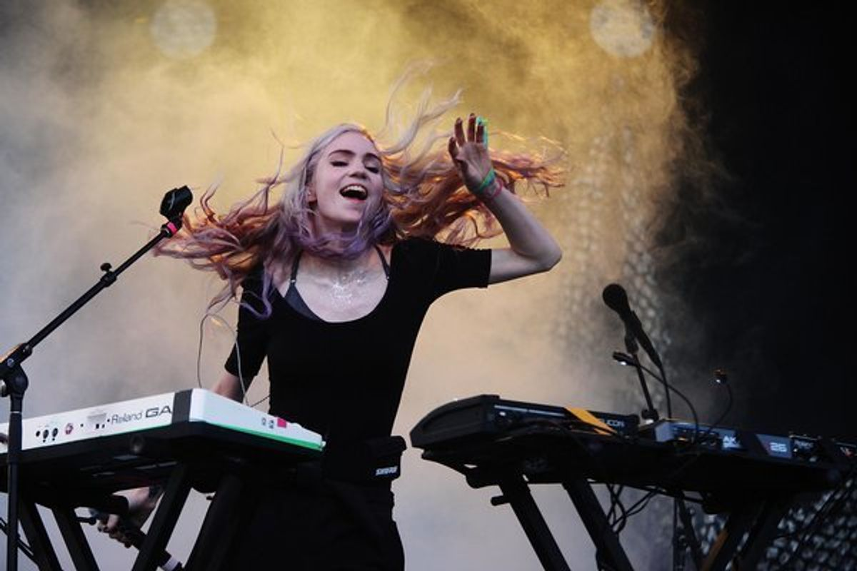 Hear An Unreleased Grimes Song + Other Grimes Triumphs In 2015