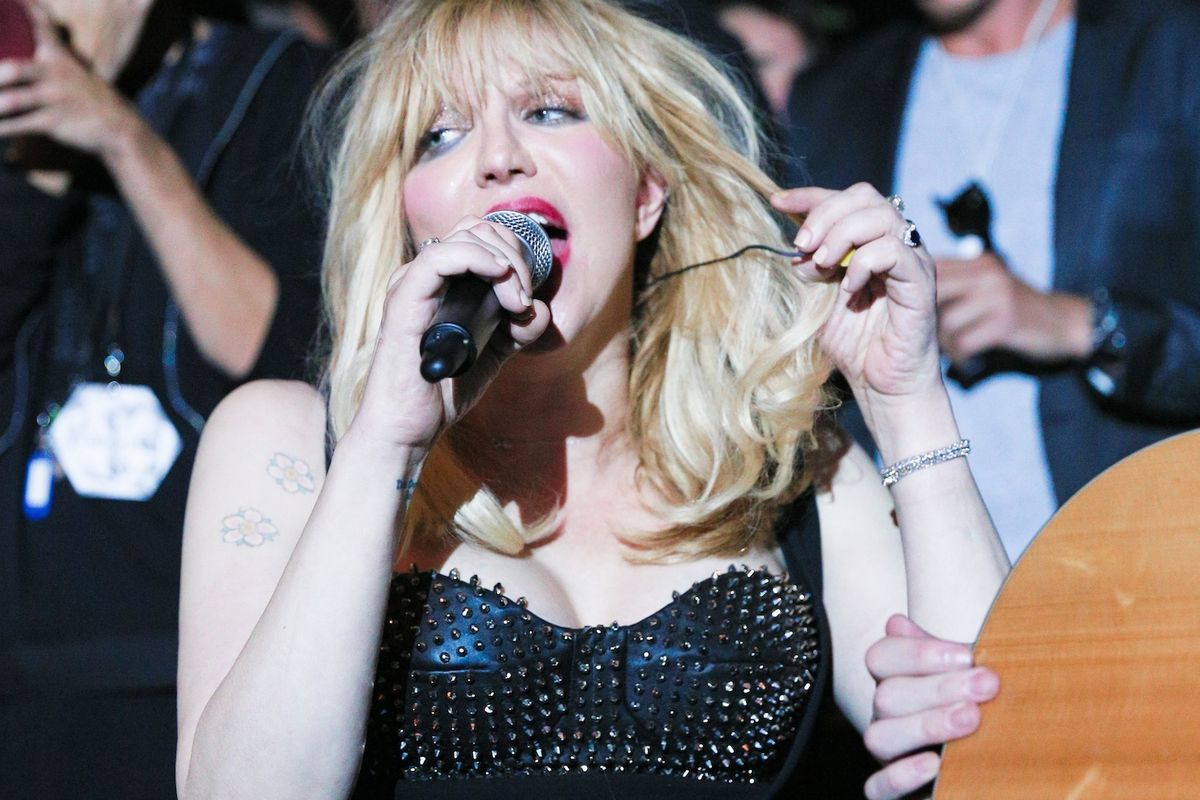 Courtney Love Is Working On A Nasty Gal Collaboration