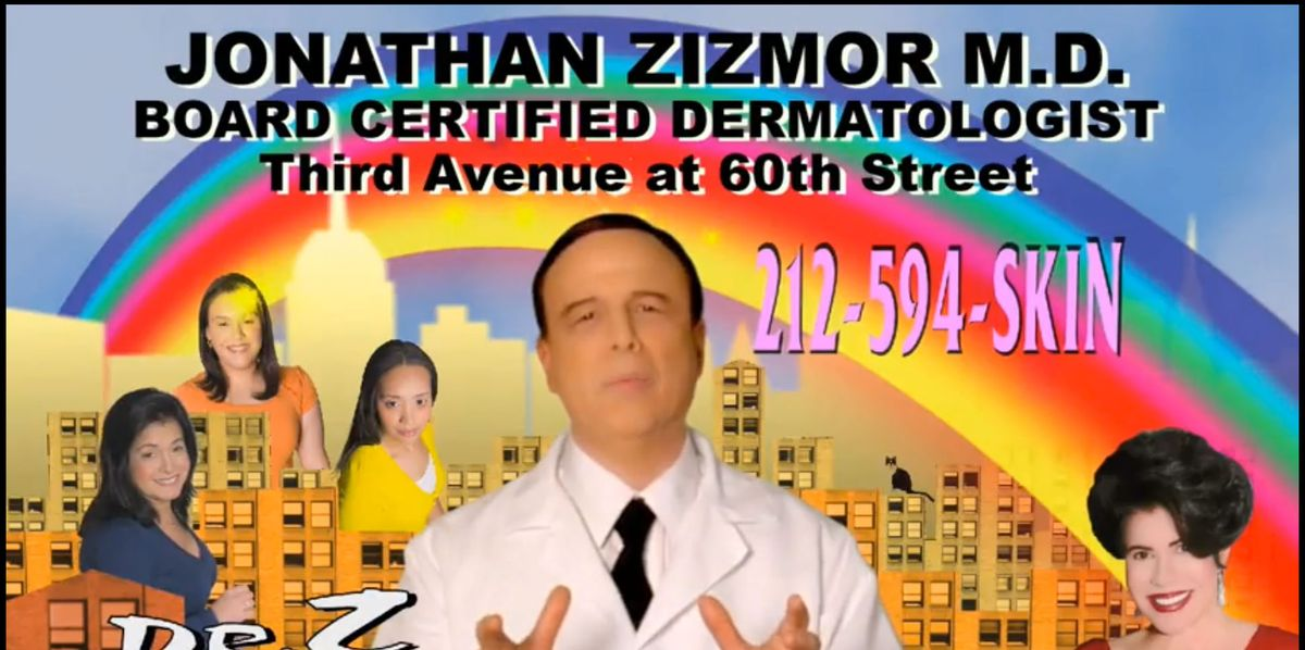 NYC Subway Ad Icon Dr. Zizmor Finally Retires