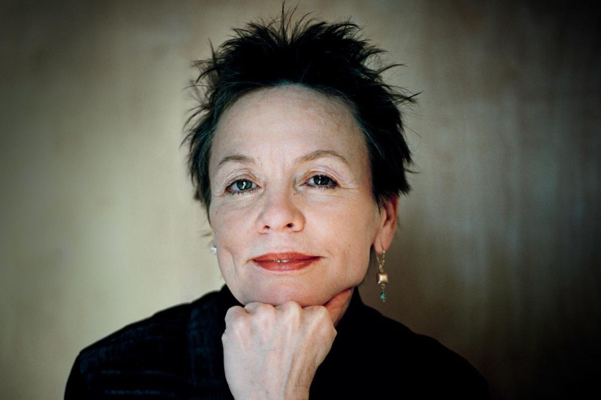 """Laurie Anderson On Her New Film, """"Heart of a Dog"""""""