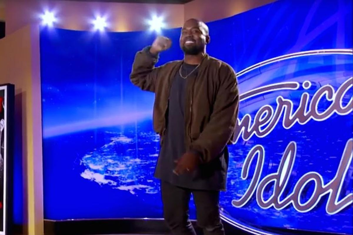 Watch Kanye West Audition On 'American Idol'