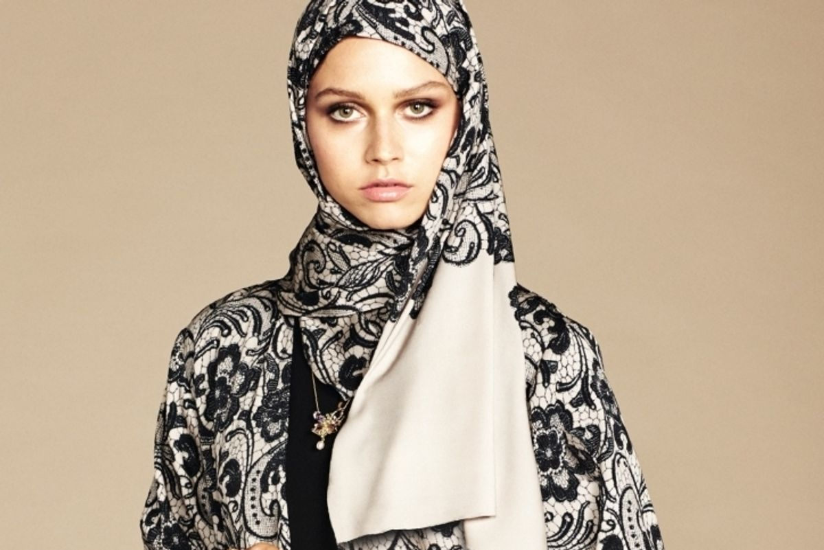 Dolce & Gabbana Debut A Haute-Couture Hijab Line