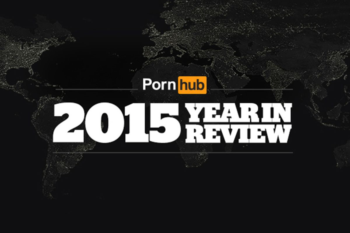 "Pornhub's ""Year In Review"" Breaks Down What Type Of Porn We Couldn't Get Enough Of In 2015"