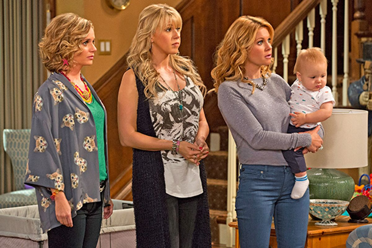 Peep The First Official Photos Of the Fuller House Cast In Action