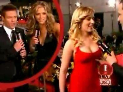 Scarlett johanssen boob squeeze