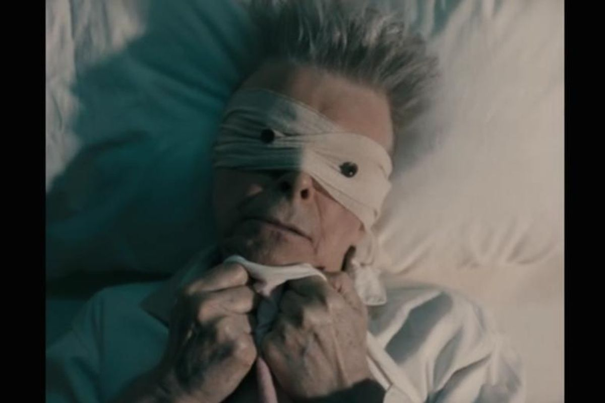 Watch David Bowie's Creepy, Bed-Ridden Music Video For 'Lazarus'