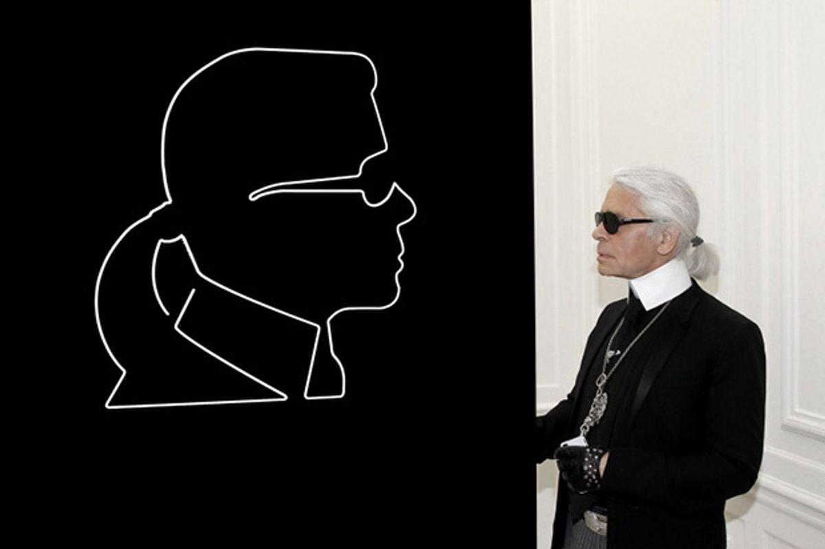 Karl Lagerfeld Is Not-So-Good At Hiding 20 Million Euros