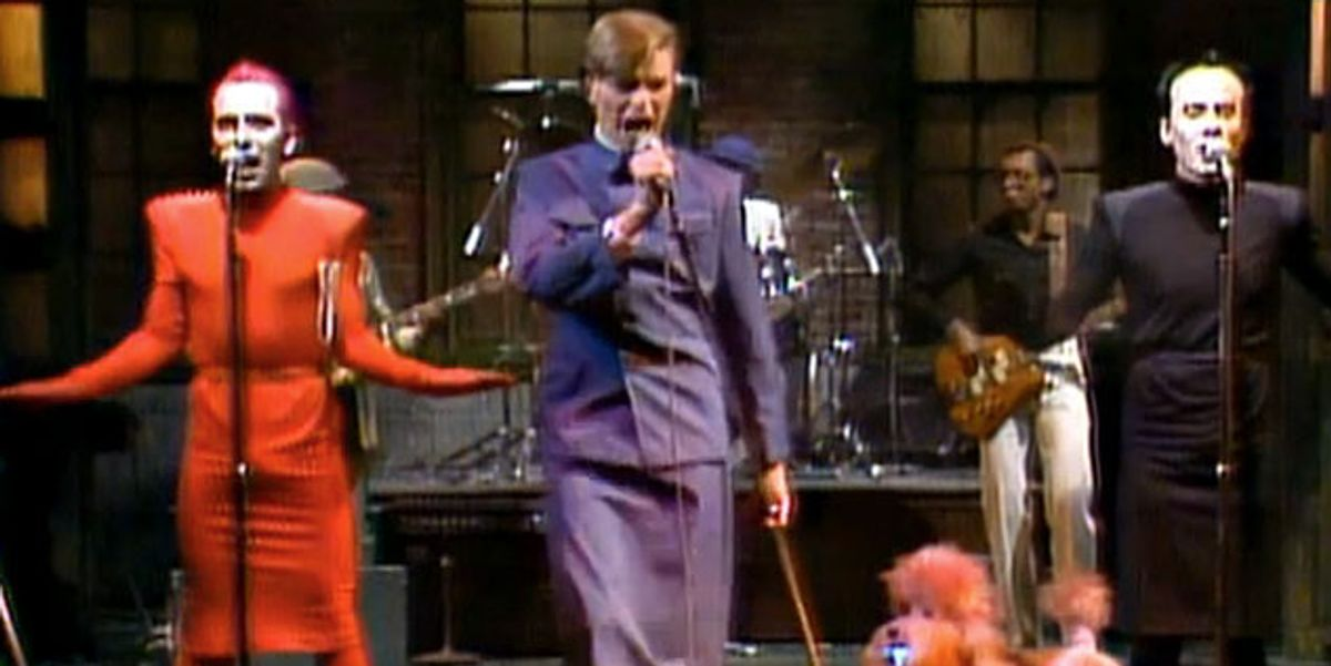 """""""His Mind Was So Open:"""" Joey Arias On Performing With David Bowie and Klaus Nomi On SNL"""