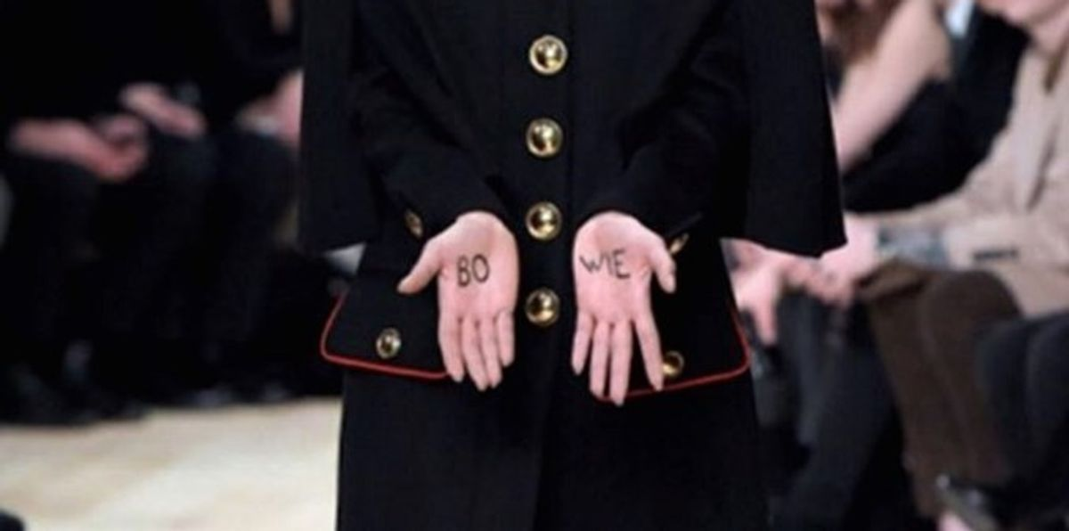 The Last Day Of London Men's Fashion Week Was One Big David Bowie Tribute