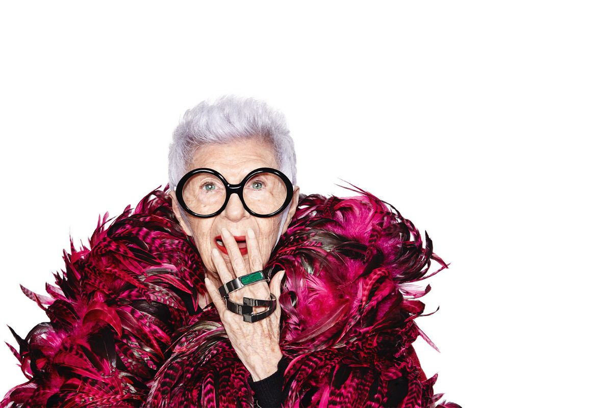 Iris Apfel Has Designed Some Wearable Tech