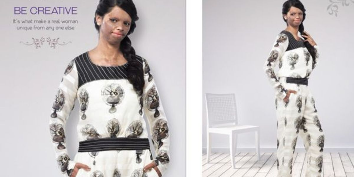 Acid Attack Survivor Is The New Face Of A Leading Indian Fashion Brand