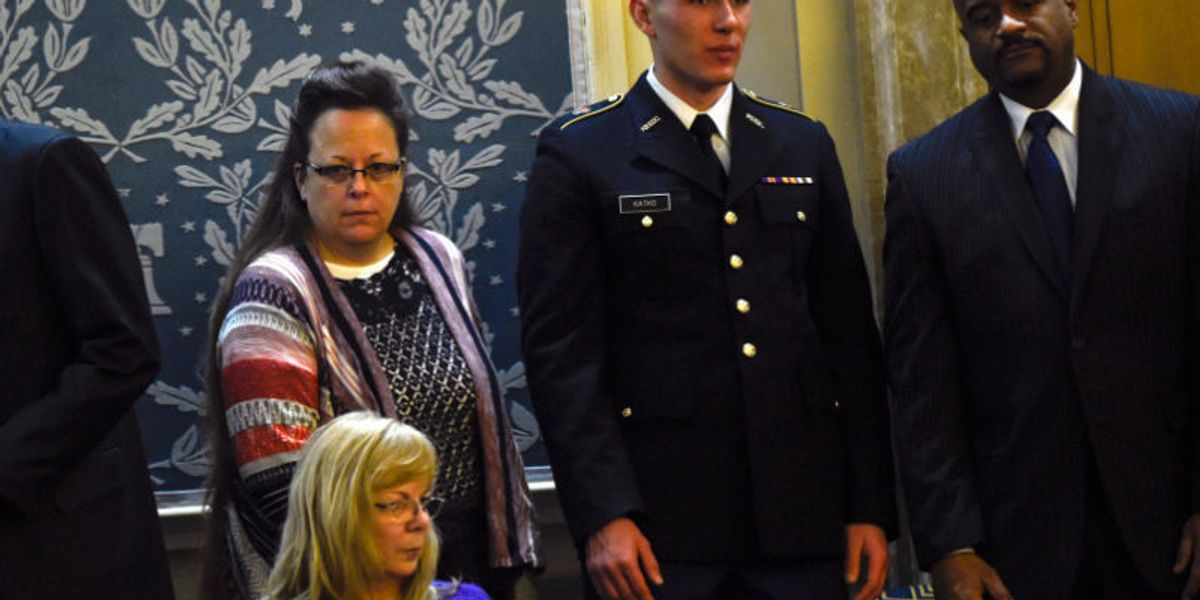 Kim Davis Was The Belle of the State of the Union