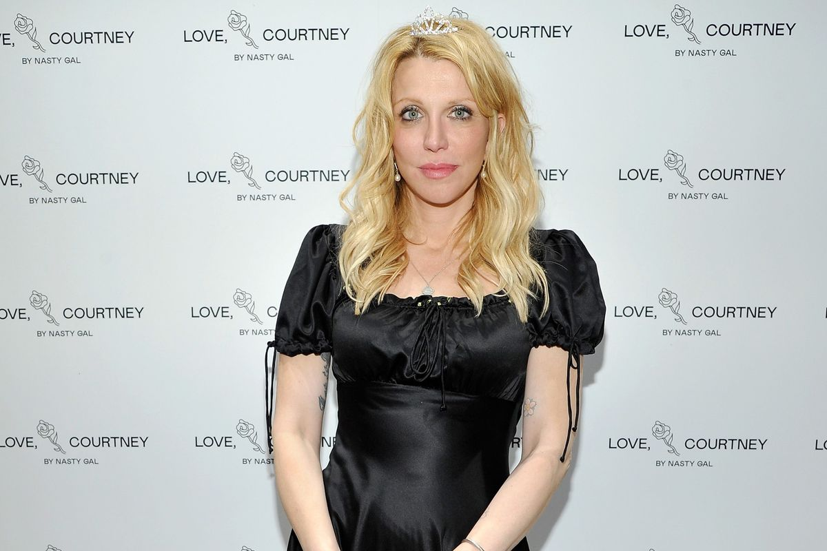 """I've never put my name on anything before:"" Courtney Love On Her New Nasty Gal Collab"