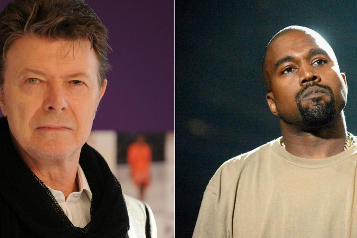 This David Bowie/Kanye West Conspiracy Theory Will Blow Your Mind