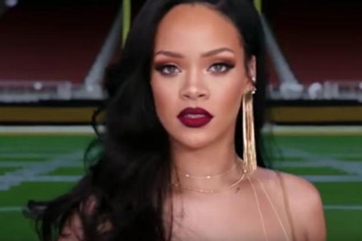 Watch Rihanna In A New Superbowl Spot