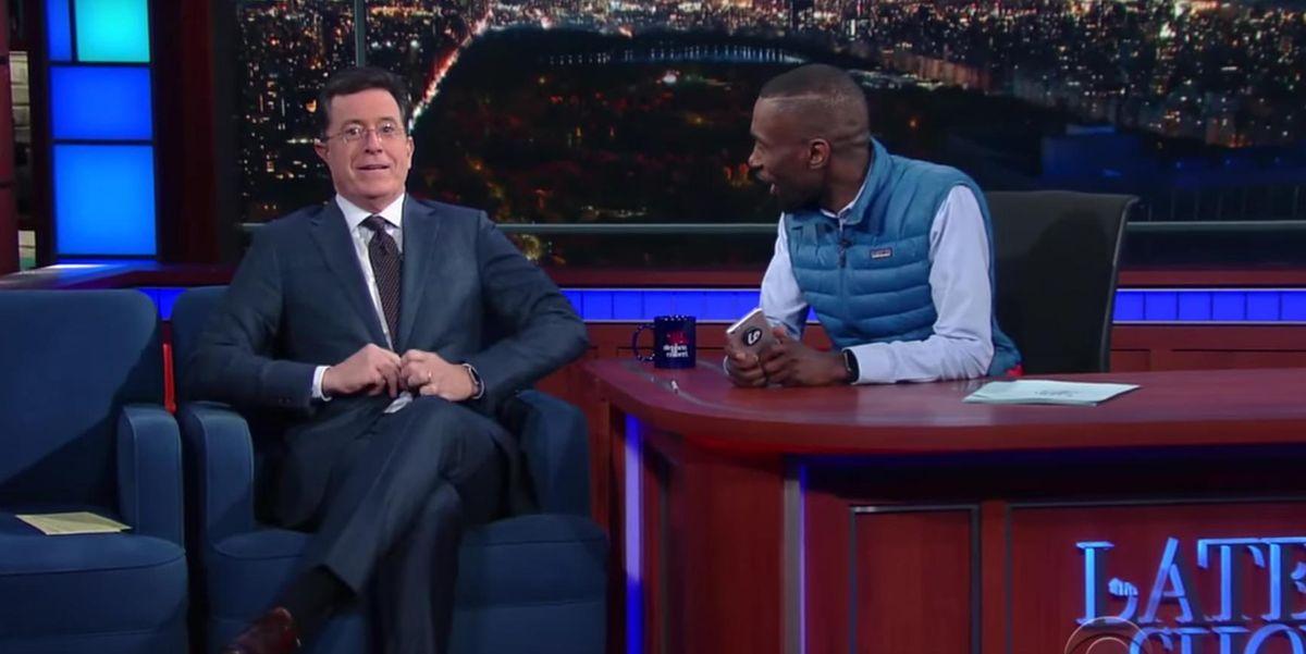 Watch DeRay McKesson Help Stephen Colbert Understand His White Privilege