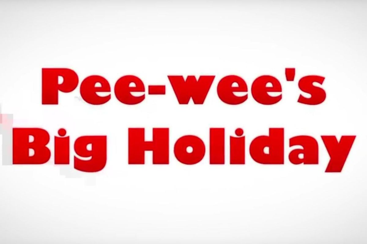Behold: The First Trailer For 'Pee-Wee's Big Holiday'