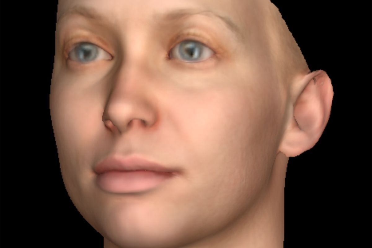 Peep 3D Portrait Masks Created From Chelsea Manning's DNA In Davos