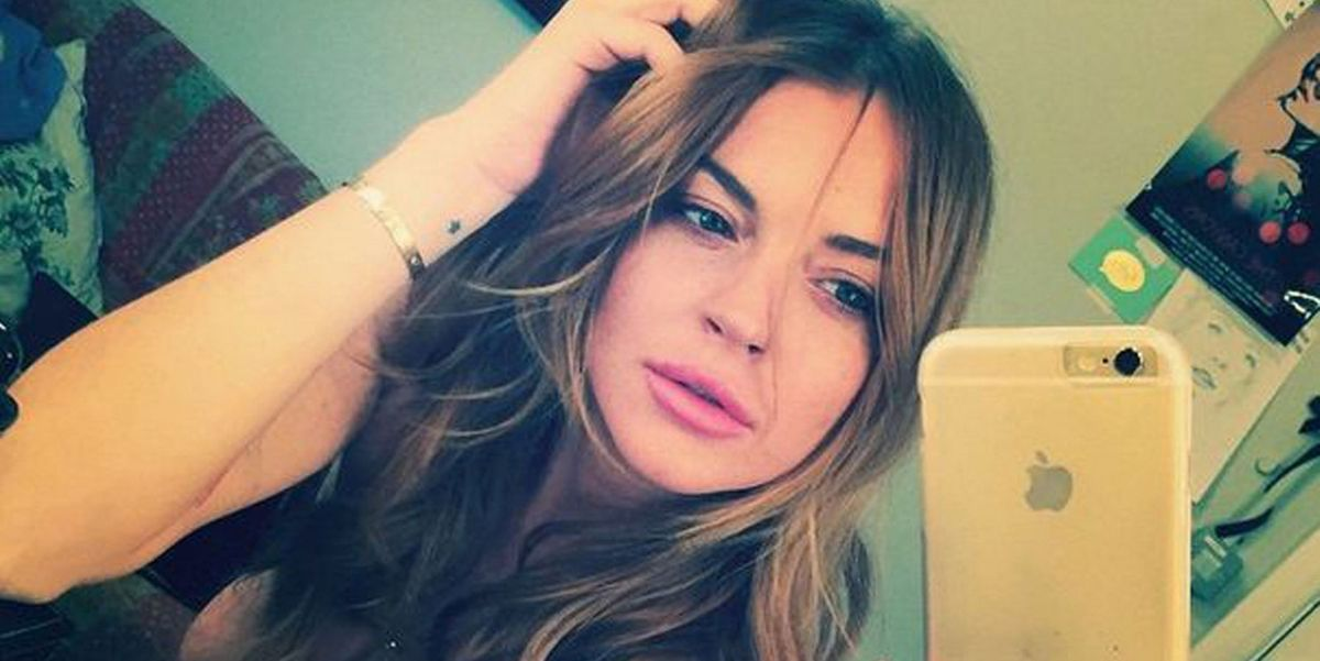 Lindsay Lohan Instagrams...This Photo