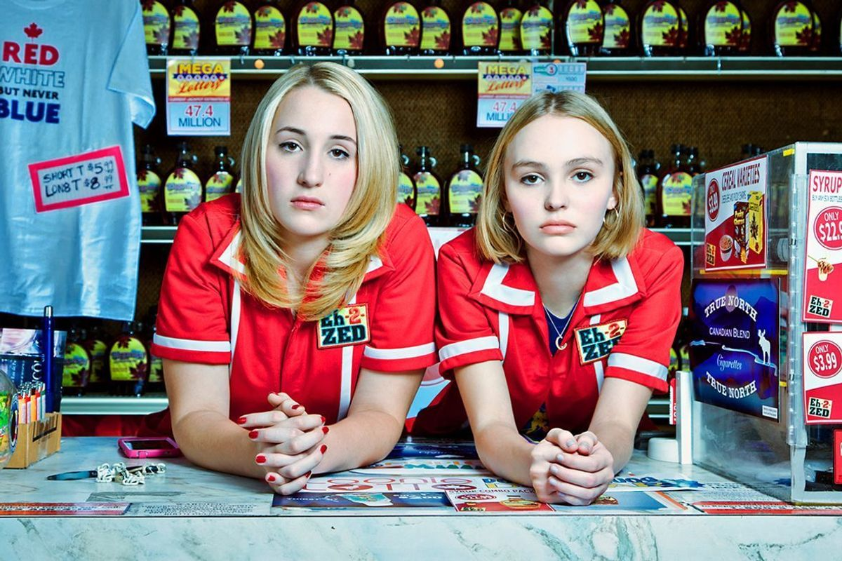 """Lily-Rose Depp Shines As A Bored Teen In The Teaser Trailer For """"Yoga Hosers"""""""