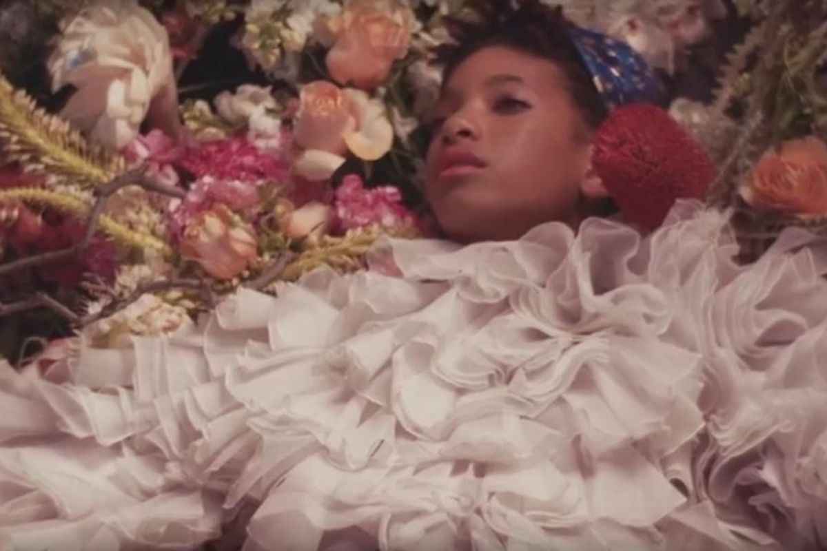Peep Willow Smith In This Dreamy Promo For Chic NY Sock Company, STANCE