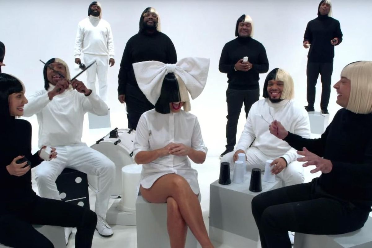 "Watch Sia Cover ""Iko Iko"" With Natalie Portman, Jimmy Fallon And The Roots"