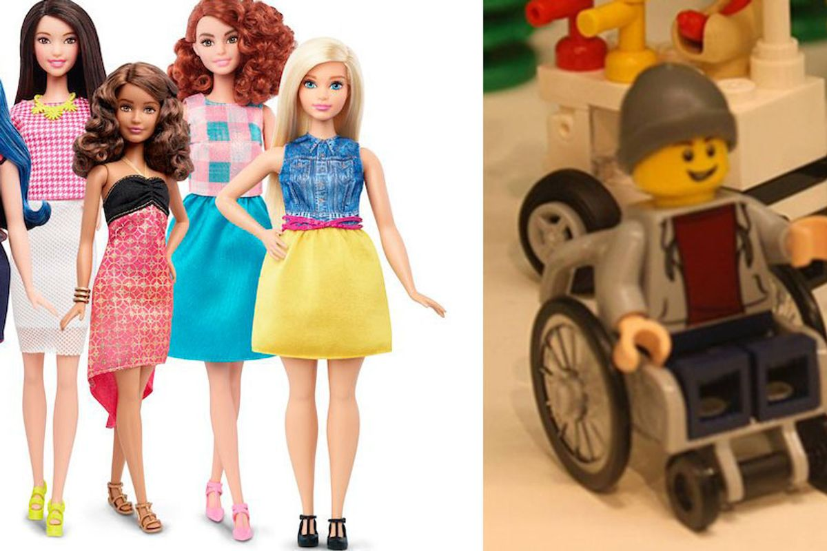 More Inclusive Toys Are Coming, With Barbie And Lego Leading The Charge