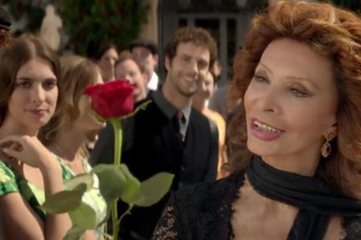 Watch Sophia Loren's Radiant Appearance In A Dolce & Gabbana's Fragrance Ad