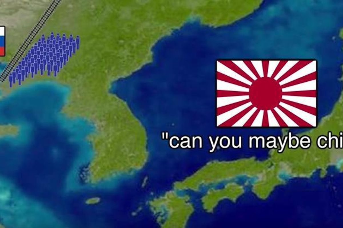 This Viral Video of the History of Japan Is Mesmerizing
