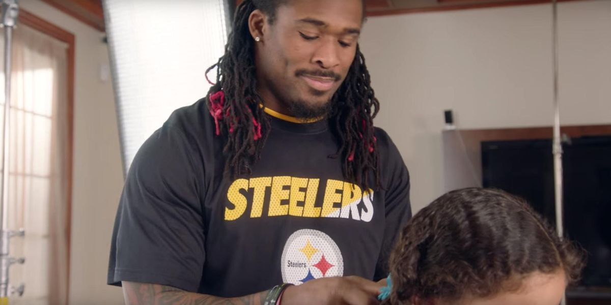 Watch NFL Players Style Their Daughters' Hair In These Adorable Videos
