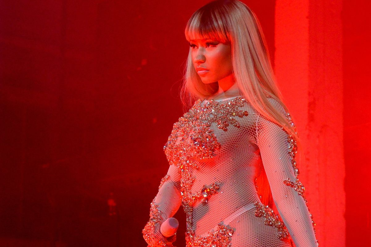"Listen To A New Nicki Minaj Verse That References Her ""Miley, What's Good?"" Moment"