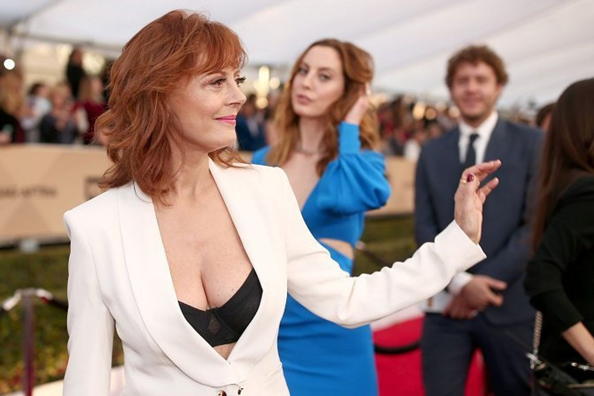 """Feminazis:"" Piers Morgan Responds to Susan Sarandon's #Cleavagegate Controversy"
