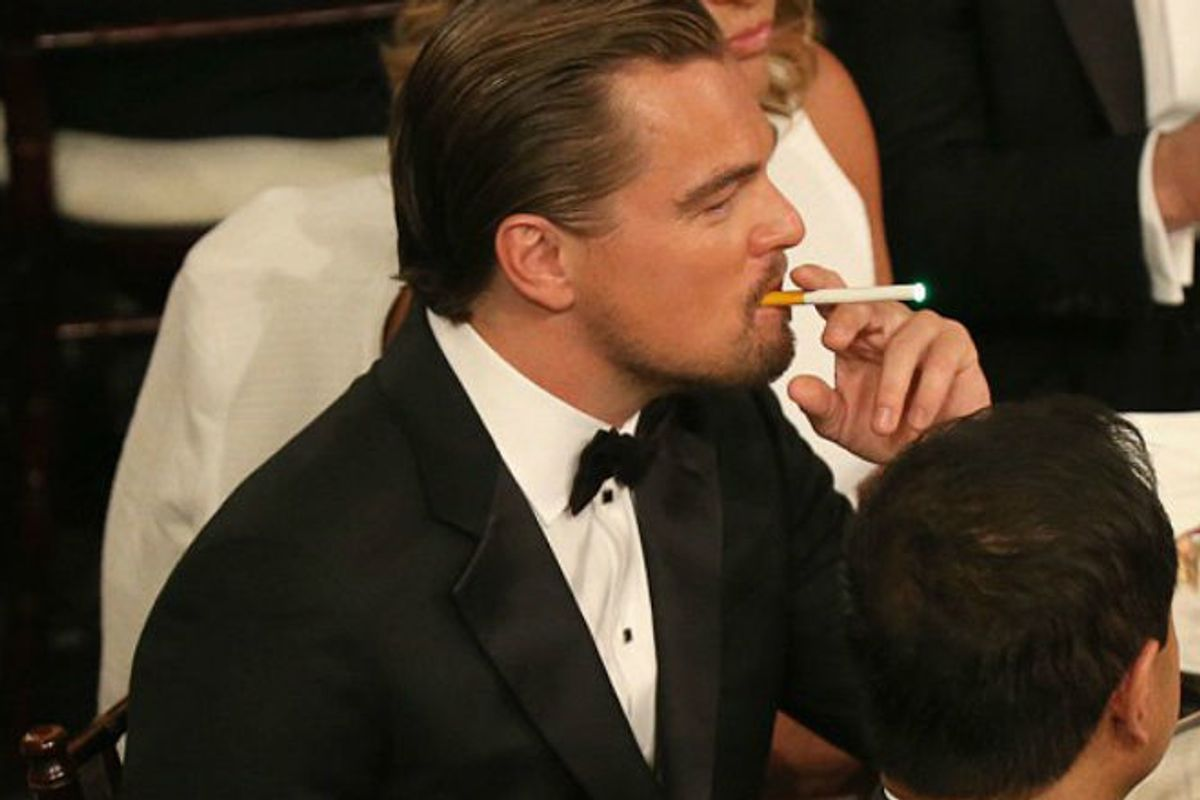Leonardo Weeps! Vaping Has Been OUTLAWED at The Academy Awards